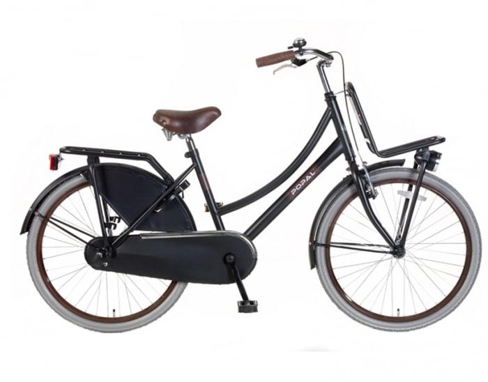 Popal Urban Basic mat-zwart Transportfiets