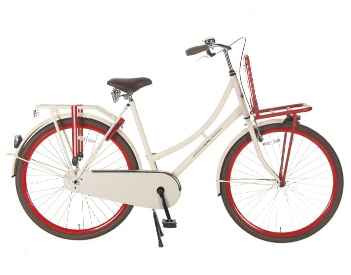 Popal Urban Carry 28 inch: Creme-Rood