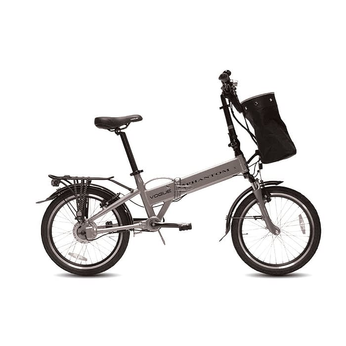 Vogue-Phantom-E-bike-vouwfiets-20-inch-zilver grey-