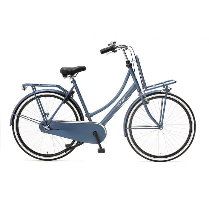 Nogan Vintage 28 inch Transportfiets N3 Matt Blue Damesfiets