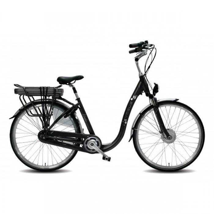 Lage instap fiets Elektrisch Vogue comfort grijs-750x750